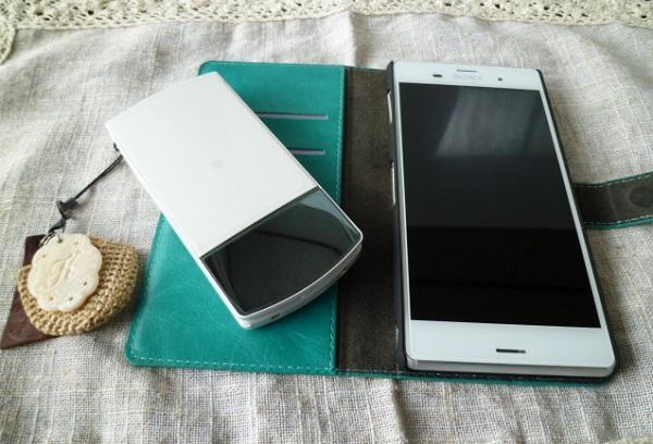 スマートフォンと携帯電話